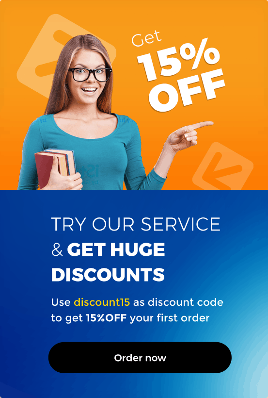 ORDER WITH 15% DISCOUNT